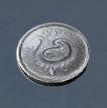 Серебрянная-монета