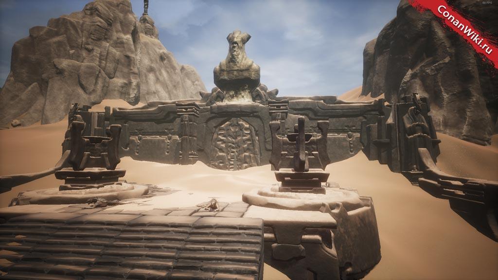 Занесённые-песками-руины