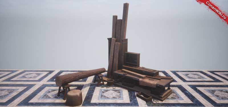 Цеховой верстак плотника-