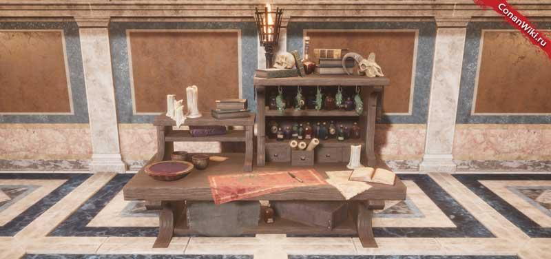 Улучшенный стол алхимика-