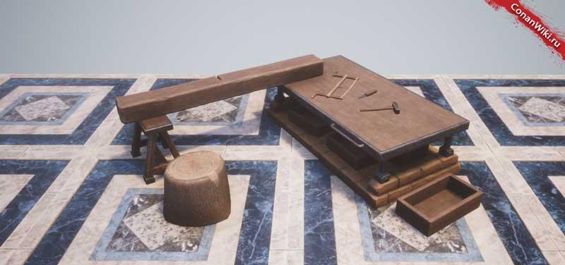 Улучшенный верстак плотника-