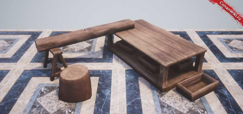Верстак плотника-