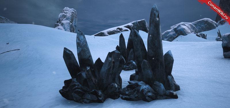 Чёрный лёд-