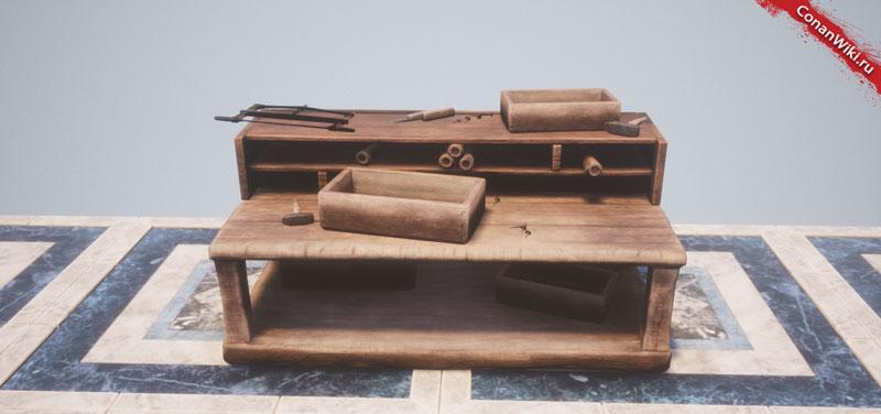 Ремесленный стол-
