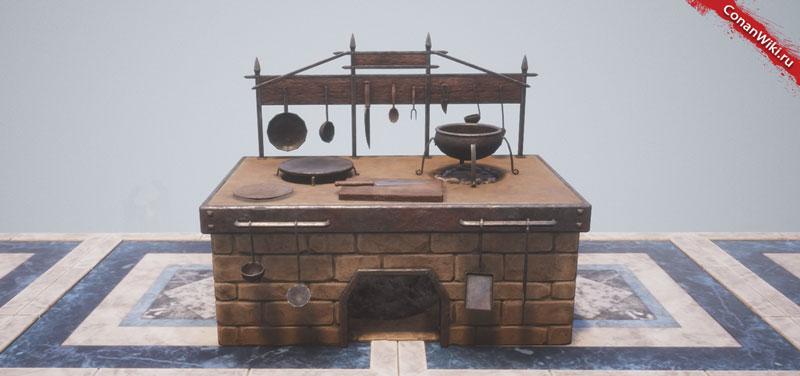 Улучшенная печка-