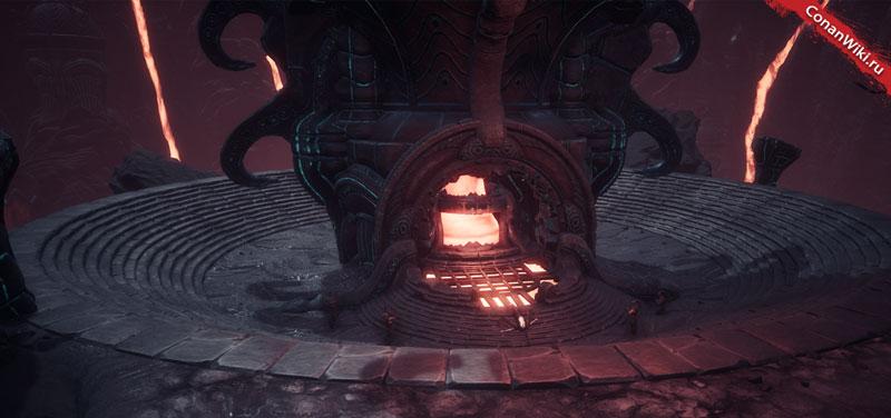Вулканская печь.